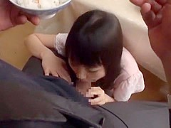 Exotic Japanese chick Tsubomi in Fabulous Facial, Fingering JAV clip