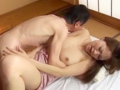 Crazy Japanese model Natsumi Horiguchi in Amazing Big Tits, Doggy Style JAV movie