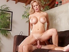 Fabulous pornstar Brandi Love in amazing blonde, milf adult scene