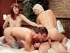 Maitresse Madeline Marlowe & Dylan Ryan & Lance Hart & Christian Wilde in Please Fuck My Wife While