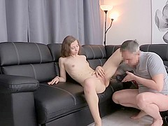 Best pornstar in crazy oldie, hardcore sex movie