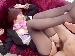 Exotic Japanese model Leo Saionji, Kanade Tomose, Miharu Izawa in Fabulous Blowjob, Big Tits JAV cli