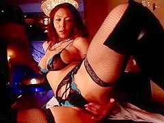 Fabulous Japanese whore Sanae Asoh in Hottest Big Tits, Stockings/Pansuto JAV video
