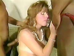 Incredible homemade Vintage, Threesomes xxx movie