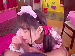 Hottest Japanese whore Ruka Kanae in Amazing Blowjob/Fera, Cosplay JAV video