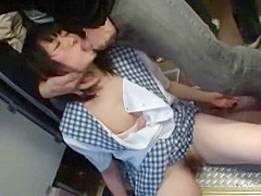 Crazy Japanese chick Nana Usami, Miko Harune in Amazing Big Tits, Doggy Style JAV movie