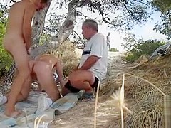Old farts jerk off to and bang this mature lady