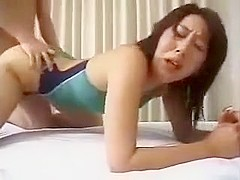 Enticing Asian Girl With A Superb Ass Gets Her Hairy Twat N