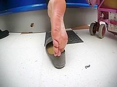 Incredible amateur Foot Fetish, Webcam sex scene