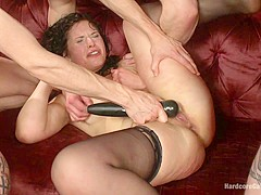 Deviant Desire: Fallon Provokes The Mob To Get The Gang-Bang Of Her Dreams - HardcoreGangbang