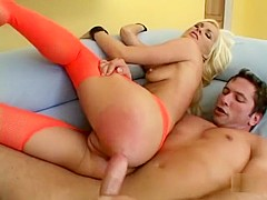 Best pornstar Jessi McCarthy in fabulous anal, blonde porn video