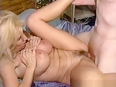 Amazing pornstar Patricia Blake in exotic mature, blonde adult video