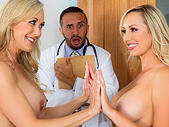 Brandi Love & Brett Rossi & Keiran Lee in The Second Cumming: Part 2 - BrazzersNetwork