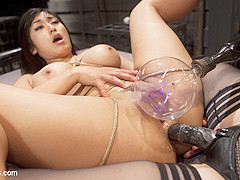 Aiden Starr & Mia Li in Twisted Science Experiment:Live Show Starring Mia Li And Aiden Starr - Elect