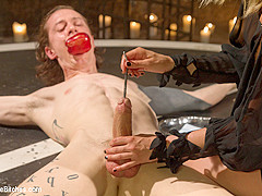 Mona Wales & Owen Gray in Forbidden Fruit: A Femdom Sounding Ritual - DivineBitches
