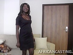 Epic ebony goddess getting banged