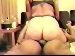 Mature pawg takes bbc in ass