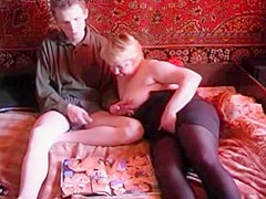 Russian Mom Son Russian Old Woman And junior Boy 2