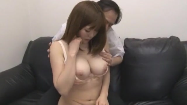 Horny Japanese whore Yuka Kojima in Crazy Big Tits, Casting JAV clip