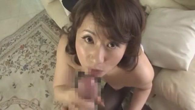 Crazy Japanese model Reiko Makihara in Exotic POV, Blowjob/Fera JAV clip