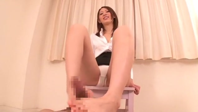 Fabulous Japanese whore Riko Miyase in Crazy Cumshots, Foot Job/Ashifechi JAV clip