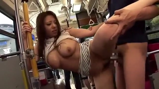 Amazing Japanese whore Chiharu Nakai, Yuka Minase, Kairi Uehara in Exotic Bus JAV movie