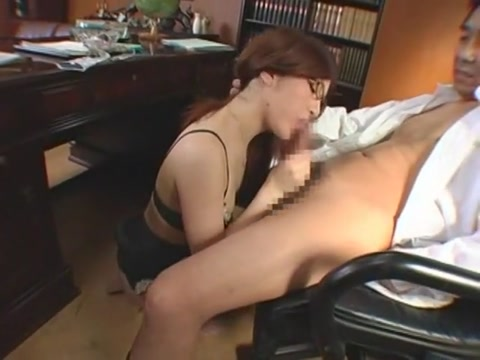 Hottest Japanese girl in Incredible Secretary JAV scene
