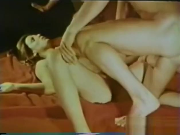 Incredible amateur threesome, vintage xxx movie
