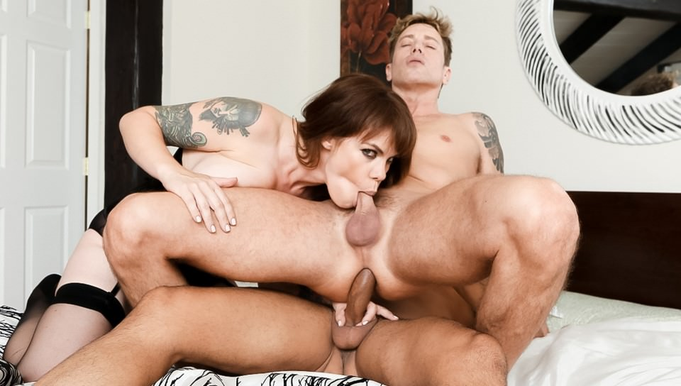 Gia Paloma & Gabriel D'Alessandro & Damien Thorne in Wanna Fuck My Wife Gotta Fuck Me Too #11 - Devi