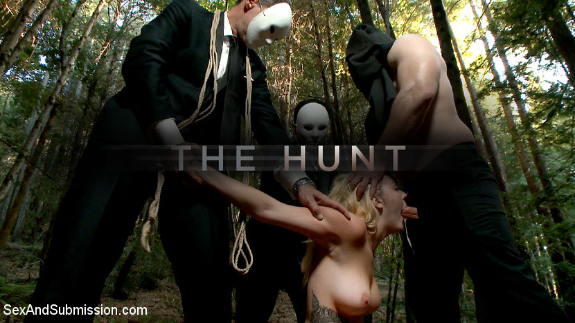 Chanel Preston & John Strong & Iris Rose in The Hunt - SexAndSubmission