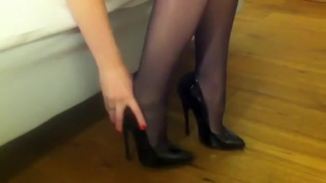 Hottest homemade Fetish, High Heels adult video