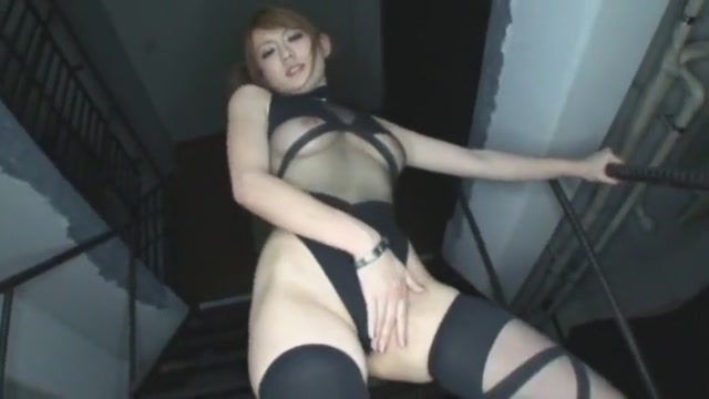 Hottest Japanese chick Reon Otowa in Crazy Masturbation/Onanii, Stockings/Pansuto JAV video