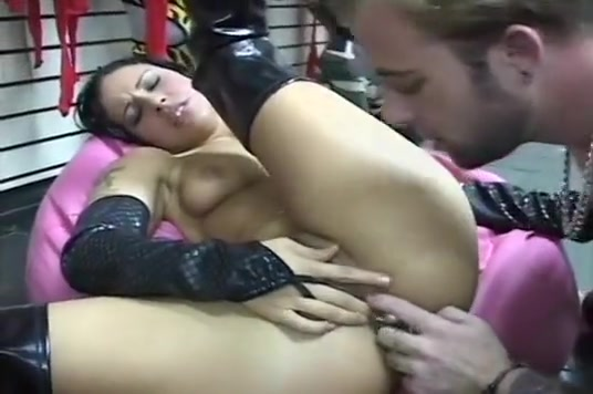 Filthy Slut Monica Mattos Banged In The Sex Store