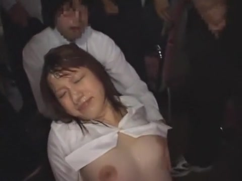 Hottest Japanese girl in Horny Facial, Public JAV video