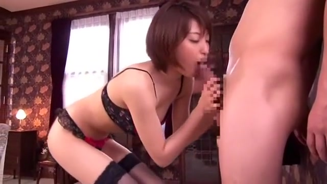 Horny Japanese whore in Exotic Girlfriend, Blowjob/Fera JAV video