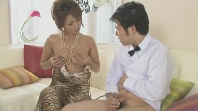 Crazy Japanese girl in Amazing Cumshots, Handjobs JAV movie