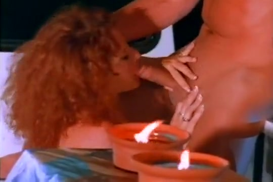 Hot Red Head Gets Fucked In Both Openings