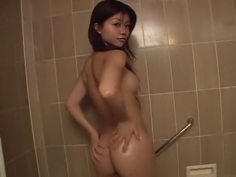 Fabulous Japanese chick Akane Hotaru in Incredible Girlfriend, Showers JAV video