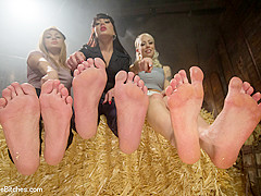 Lorelei Lee & Missy Minks & Lea Lexis & Mahina Zaltana & Lance Hart in Full Foot Worship Feature Fas