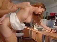 Hottest Japanese chick Wakana Kinoshita in Fabulous Big Tits, Cunnilingus JAV clip