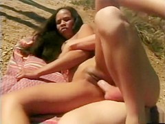 Horny homemade straight, outdoor adult clip