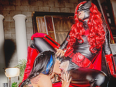 Charlotte Stokely & Romi Rain in Justice League XXX An Axel Braun Parody, Scene 3 - Wicked