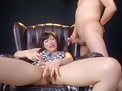 Exotic Japanese girl Miki Sunohara in Crazy Toys, Couple JAV video