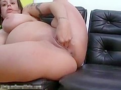 Incredible amateur Webcams, Brunette sex clip