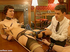 Cherry Torn & Bella Rossi in Service Session: Rossi's First Day - TheUpperFloor