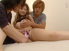 Horny Japanese slut Yuria Kiritani in Incredible Dildos/Toys, Blowjob JAV scene