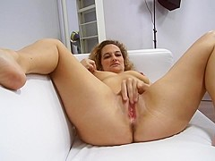 European milf on the couch 29