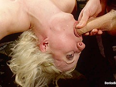 Cherry Torn & James Deen in Cherry Torn Gets Pushed to Her Limit! - DeviceBondage