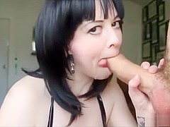 Sexy Woman shows how to properly Empty a Enormous cock