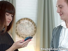 Young Courtesans - Angie Moon - A special anal gift